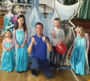 Frozen themed childrens party