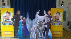 frozen childrens themed party