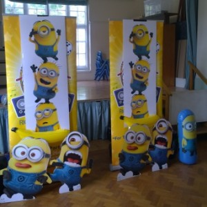 Minion party entertainer Christchurch, Bournemouth & Poole