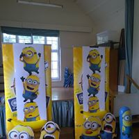 minion party entertainer for childrens themed parties in Dorset