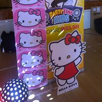 Hello Kitty themed childrens party