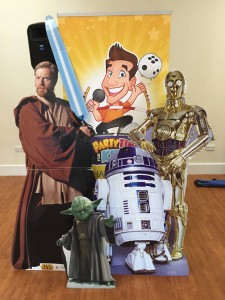 Star Wars themed children's party