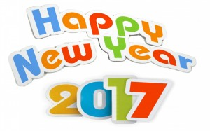 happy new year 2017 from Party Time for Kids
