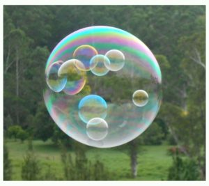Childrens bubble party entertainment