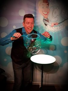 kids bubble party entertainment Poole & Bournemouth
