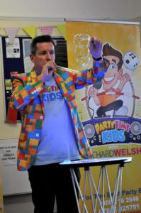 childrens bubble party entertainer Poole & Bournemouth